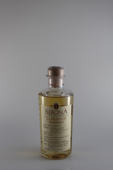 Sibona Grappa di Barbera (500ml)