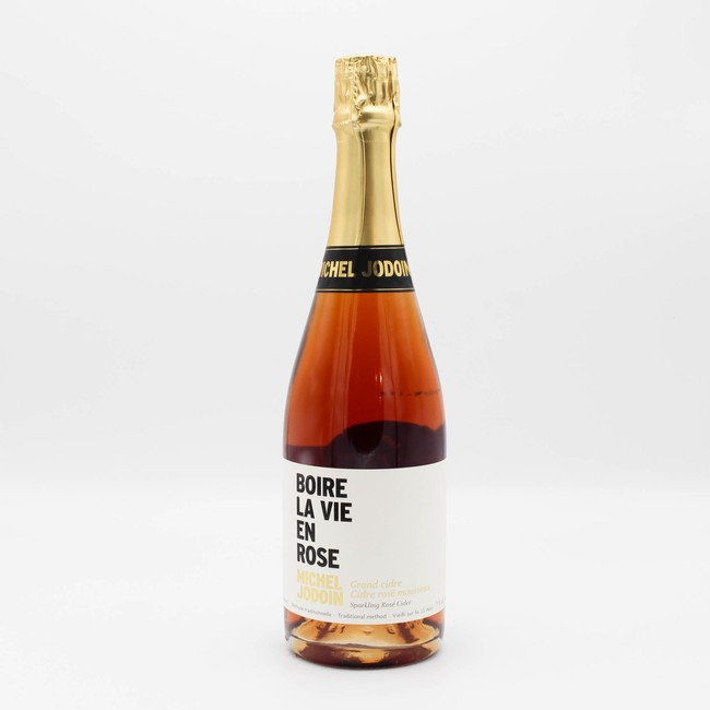 Michel Jodoin Champagne Method Rose Cider