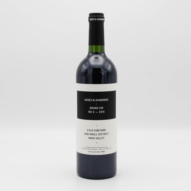 Ashes & Diamonds Grand Vin No. 2 Merlot Cabernet Franc