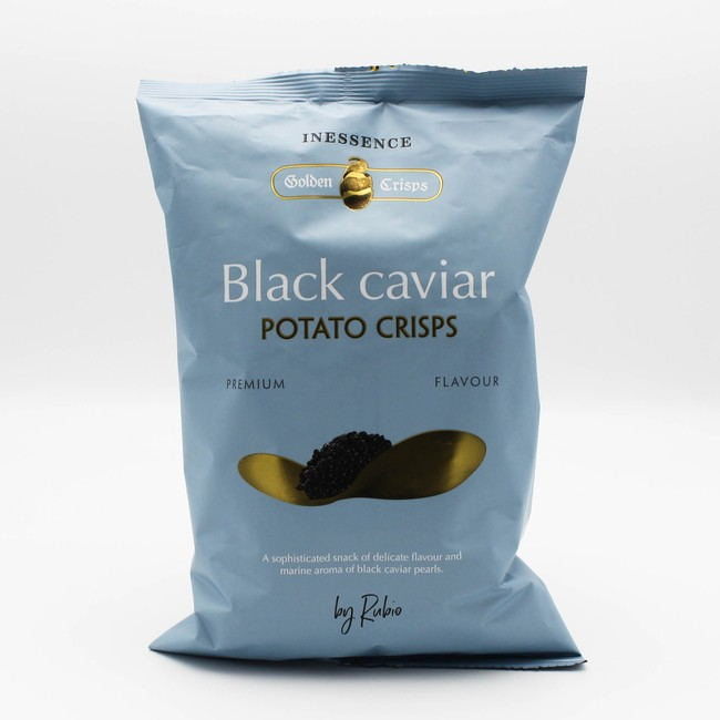 Inessence Black Caviar Potato Crisps
