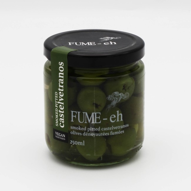 FUME-eh Smoked Olives