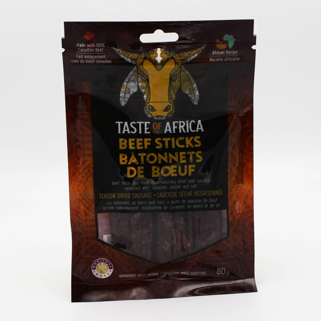 Taste of Africa Beef Sticks