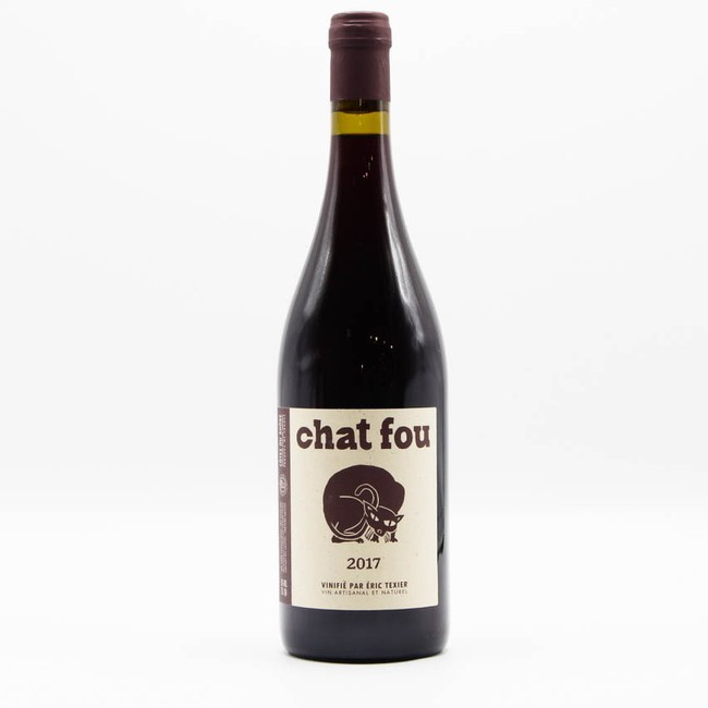 Eric Texier Chat Fou Red Blend